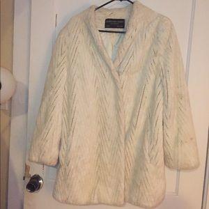 Jacques Saint Laurent Vintage Fur Coat